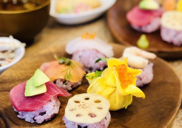 手まり寿司ランチ